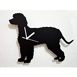 Irish Water Spaniel Dog - Wall Clock 1