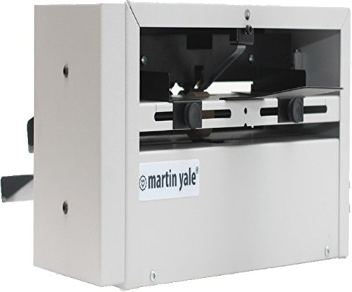 - Martin Yale SP100 Score and Perforating Machine, 23 sheets per minute, Will score or perforate sheets from 24lb. bond to 100lb. cover stock, Fully adjustable paper guides