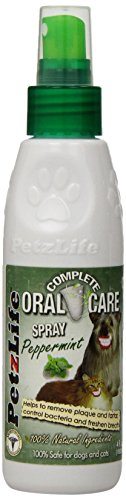 Joy Pet Oral Care Spray with Tarter Remover/Scraper, 2.2-Ounce, Peppermint by Joy