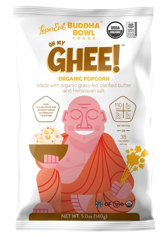 Lesser Evil Buddha Popcorn Organic product image
