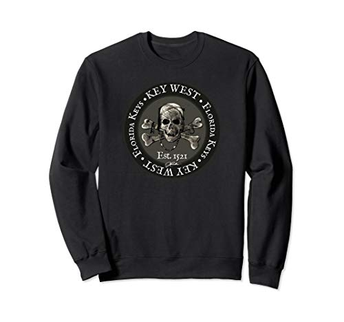 JCombs: Key West, FL, Pirate Skull & Crossbones Sweatshirt