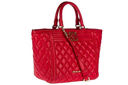Love Moschino Handtasche Damen Tasche Damenhandtasche Bag Rot