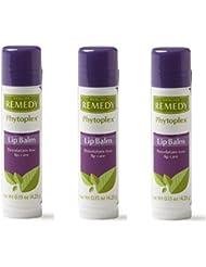 Medline MSC092915H Remedy phytoplex Lip balms (3 Packs)