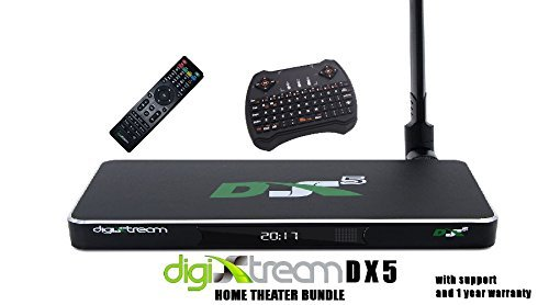 Digixstream Dx5 Home Theater Bundle. W/Keyboard Remote Warranty And Support by DIGIXSTREAM, DIGISTREAM