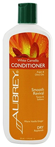 Aubrey Organics - Conditioner White Camellia Smooth Revival Warm Vanilla Ginger - 11 fl. oz. Aubrey White Conditioner