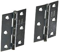 "National Hardware V508 3"" Zinc Plated Removable Pin Hinge"