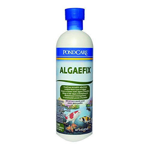 - Aquarium Pharmaceuticals PondCare AlgaeFix, 16oz