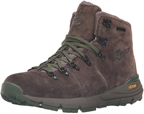 "Danner Men's Mountain 600 4.5"" Hiking Boot, Dark Brown/Green, 12 2E US"