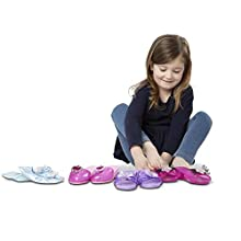 Melissa & Doug Role Play Collection, Step in Style! (Set of 4 Pairs, Standard Packaging)
