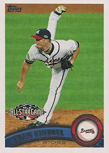 2011 Topps Update Series - Craig Kimbrel - All Star Game - Prospect Baseball Rookie Card RC #US143