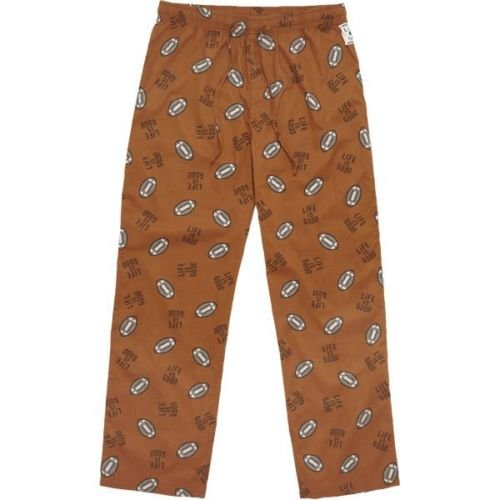 Life is good Football Lounge Pants, Toasted Orange, XX-Large (Life Is Pants Lounge Good)