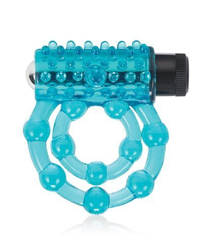 Pure Romance Family Jewel Jelly Dual C-ring with Bullet by superkrit