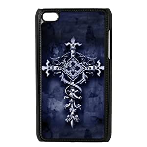 Custom Cross Back Cover Case for ipod Touch 4JNIPOD4-109
