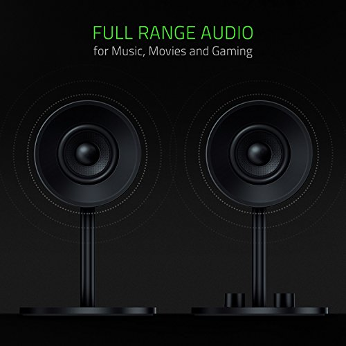 Razer Nommo - Computer Speakers, Rear Bass Ports for Full Range Gaming & Sound Immersion - Custom Woven Glass Fiber 3'' Drivers by Razer (Image #1)