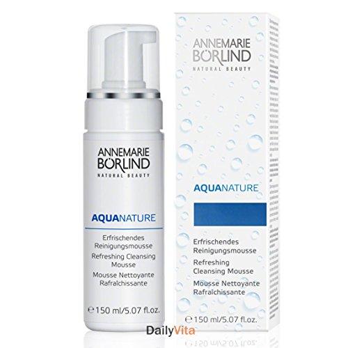 AQUANATURE Refreshing Cleansing Mousse Annemarie Borlind 5.7 oz Liquid by Annemarie Borlind