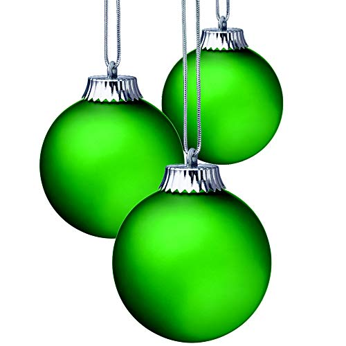Lighted Christmas Balls For The Outdoors