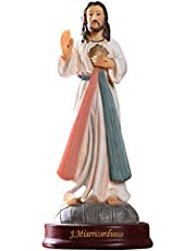 STOBOK Eid Decoration For Home Jesus Christ Figurine Religious Family Statues Catholic Figurine Tabletop Decoration For Holiday Home Father Day Mothers Day Sincere Gift White
