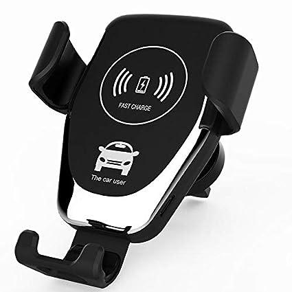 Amazon.com: Cargador inalámbrico para coche Qi compatible ...
