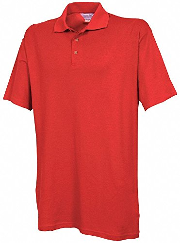 Unisex Knit Shirt, Metro Red, 2XL by FASHION SEAL (Image #1)