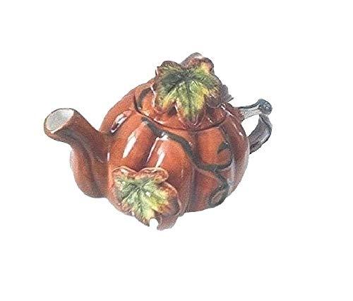 - Nantucket Harvest Collection Pumpkin/Leaf Teapot
