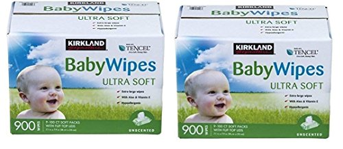 Kirkland Signature Baby Wipes (1800 Wipes)