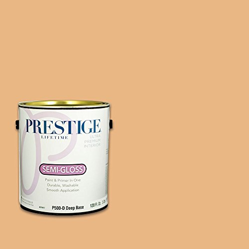 Prestige, Browns and Oranges 2 of 7, Interior Paint and Primer In One, 1-Gallon, Semi-Gloss, Hitching Post