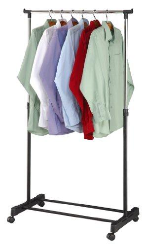 Home Basics Garment Rack, Black