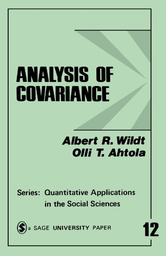 Analysis of Covariance (Quantitative Applications in the Social Sciences)