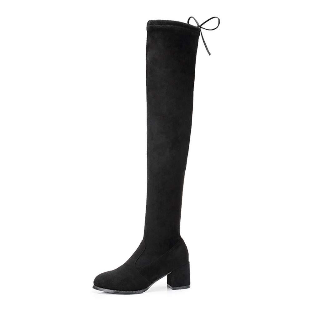 GTYW, Stivali alla Moda Stile Stile Stile Cavallerizzo Donna Donna, 35-40 3098c5