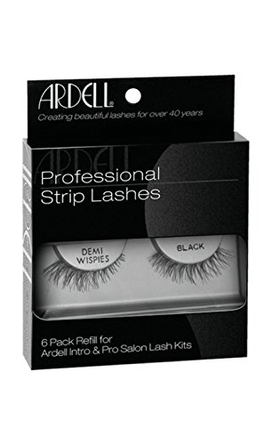 fd82617f0f0 Amazon.com : Ardell Natural Lashes, Demi Wispies Black, 6-Count ...