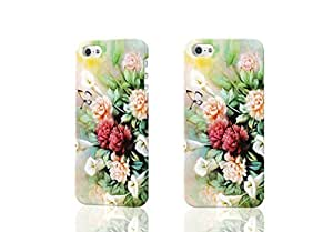 Butterfly and Bloosom Peony 3D Rough iphone 4 4S Case Skin, fashion design image custom iPhone 4 4S , durable iphone 4 4S hard 3D case cover for iphone 4 4S, Case New Design By Codystore