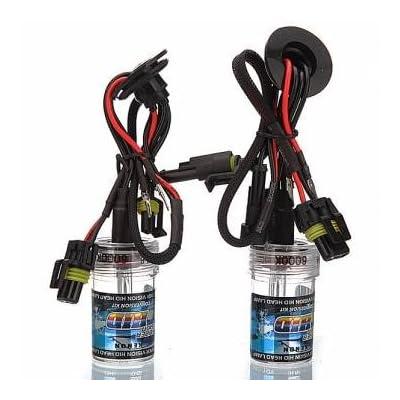 2x H8 voiture 35w lampe caché de lumière du phare au xénon ampoule de remplacement nouvelle