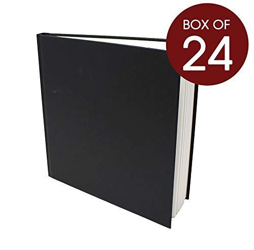 Artway Studio - Skizzenbücher mit festem Einband - 170 g m² Papier - Großhandelspackung - 195 mm (Quadrat-Format) - 24 Stück  24 x Quadrat 195mm