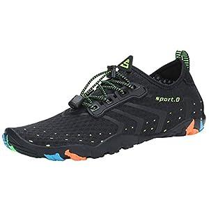 SAGUARO Chaussures pour Sport Aquatique avec Semelle Épaisse – Mixte Adulte