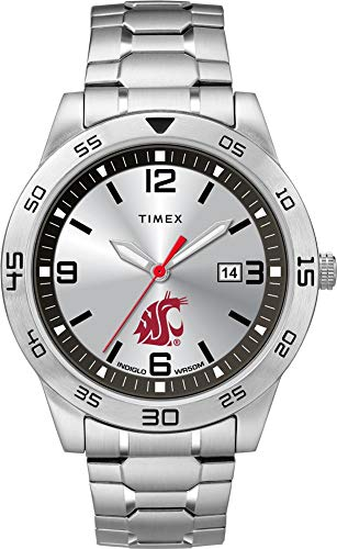 Timex Men's Washington State University Watch Citation Steel Watch