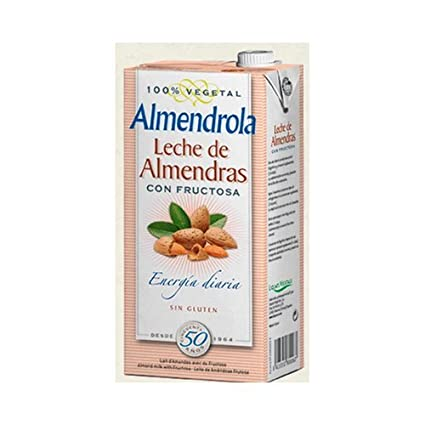 Bebida de Almendras (Sin Azúcar con Fructosa) 6 unidades de 1 litro de Almendrola