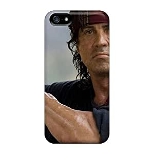 Awesome Case Cover/iphone 5/5s Defender Case Cover(sylvester Stallone John Ram)