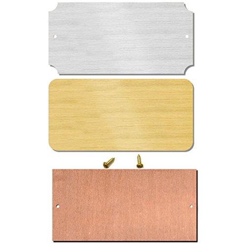 Blank Brass Plates - 2