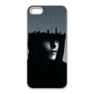 MrRobot Artwork iPhone 5 5s Cell Phone Case White Protect your phone BVS_665135