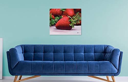 Amazon.com: Oil Painting - Strawberry 21.5