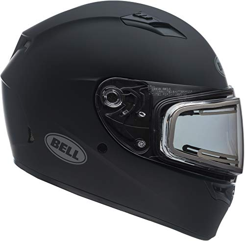 Electric Shield Full Face Helmets - Bell Qualifier Electric Shield Snow Helmet (Matte Black, X-Large)