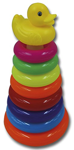 Reig Duck Stackable Rings 28 x 15, Multicoloured (9850)