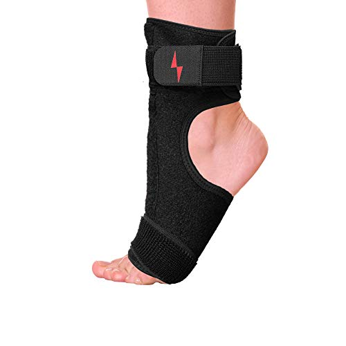 (Plantar Fasciitis Night Splint Foot Arch Support | Super Soft & Adjustable Orthotic Ankle Brace for Achilles Tendonitis, Drop Foot, Bone Spurs | Heel & Arch Pain Relief for Men & Women by GameFit)