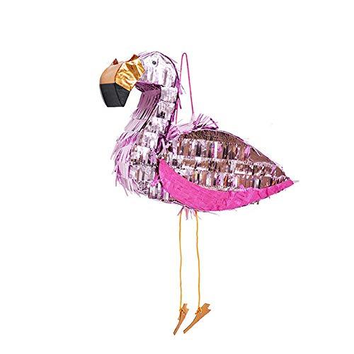 Flamingo Pinata Foil Pinata Props Birthday Party Supplies -