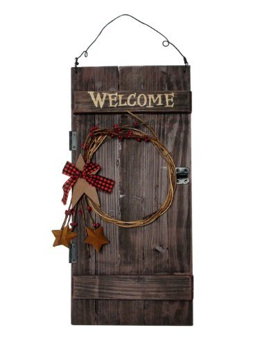 (Ohio Wholesale Barn Door Welcome Sign, from our Everyday)