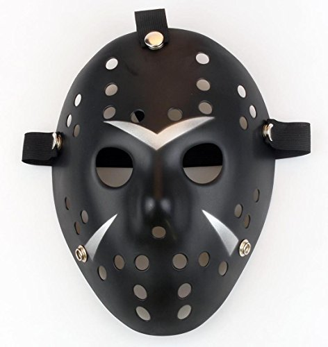 Amazon.com: Gmasking Horror Halloween Costume Hockey Mask Party Cosplay Props: Clothing