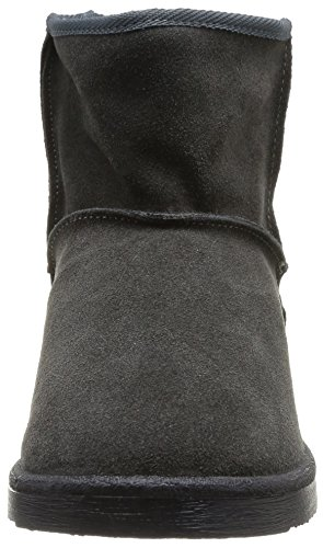 PIECES Ps Ume Suede Boot Dk Grey - Botas Mujer Dark Grey