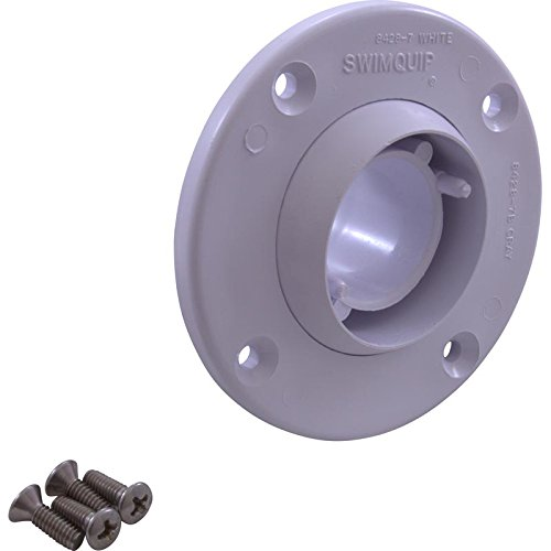 Pentair 08428-0125 Eyeball Inlet Kit - White (Sta Rite Inlet)