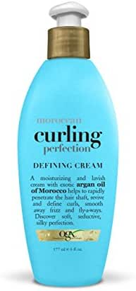 OGX Moroccan Curling Perfection Defining Cream, 6 Ounce