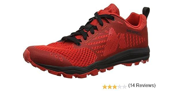 Merrell Dexterity, Zapatillas de Running para Asfalto para Hombre, Rojo (Black/Red), - 49 EU: Amazon.es: Zapatos y complementos